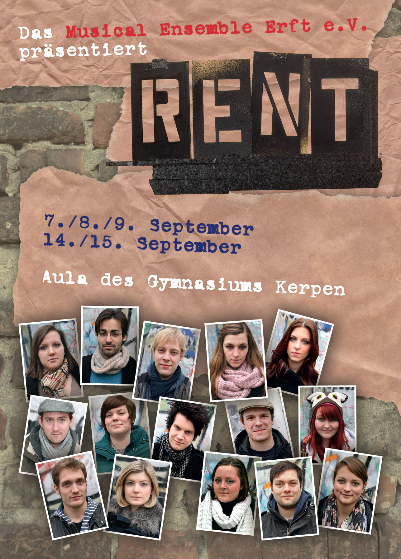 RENT - Das Ensemble
