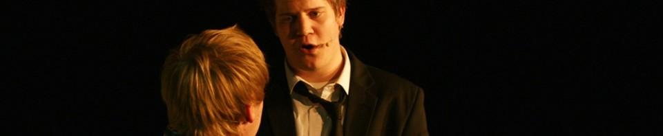 """""""No More"""" - Oliver Morschel, Sascha Kollarz - Deutschlandpremiere """"tick, tick...BOOM!"""", März 2010."""