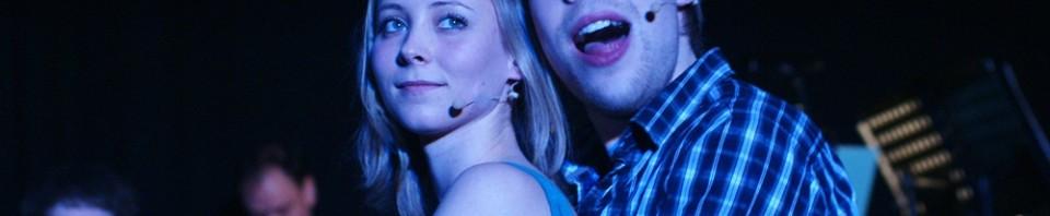 """""""See her smile"""" - Marina Schmitz, Oliver Morschel - Deutschlandpremiere """"tick, tick...BOOM!"""", März 2010."""