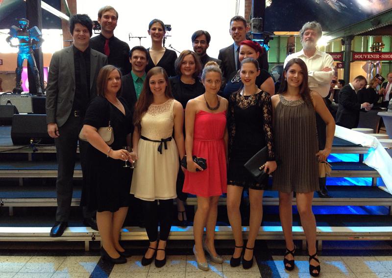 Das Musical Ensemble Erft auf der 'Starlight Express'-Jubiläumsgala