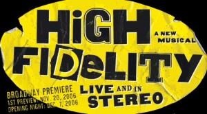 """Das Artwork der """"High Fidelity""""-Produktion am Broadway."""