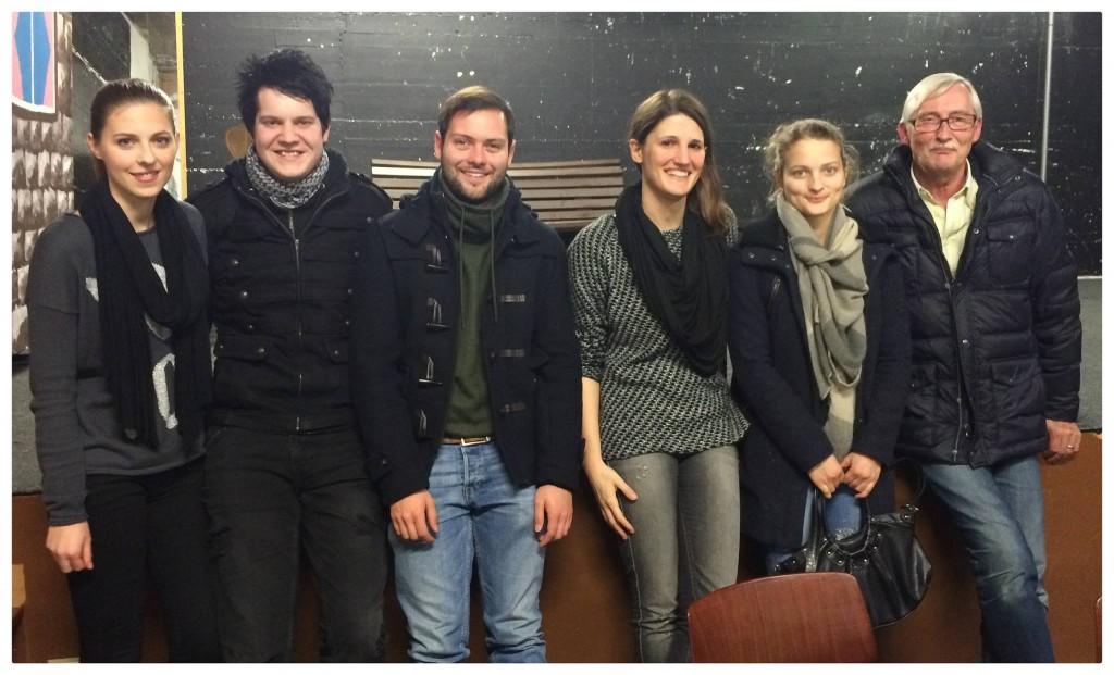 Der Vorstand des Musical Ensemble Erft