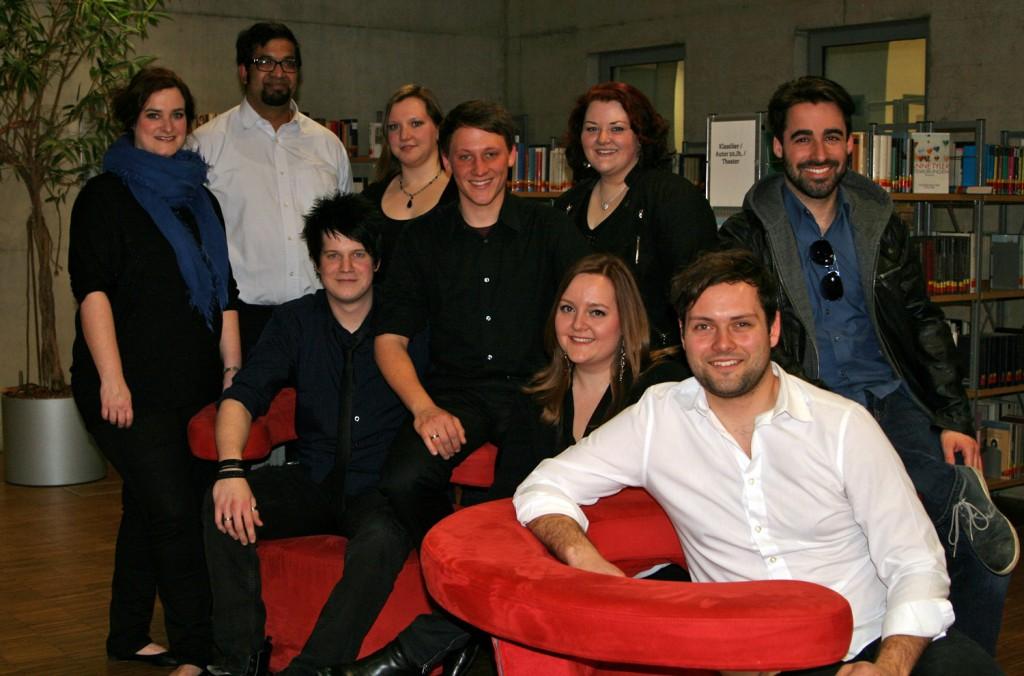 """Unser Ensemble für die """"Nacht der Bibliotheken 2015"""""""