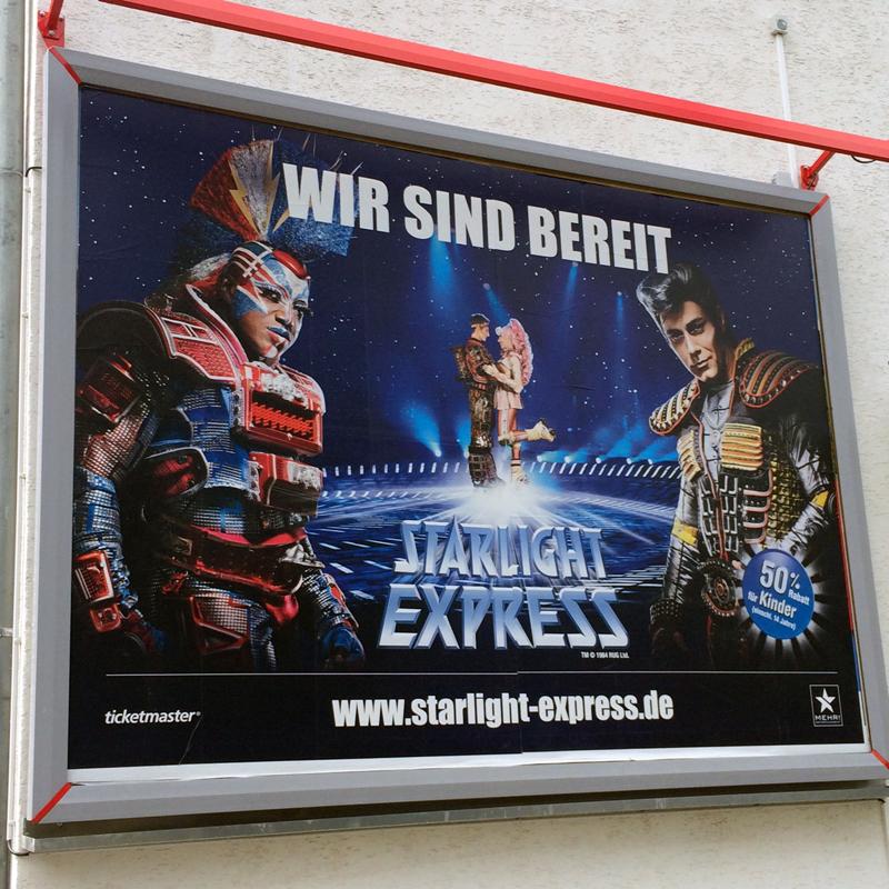 """Ein Zeichen! Ein Zeichen! """"Starlight Express"""" meets Musical Ensemble Erft - schon bald geht's los!"""