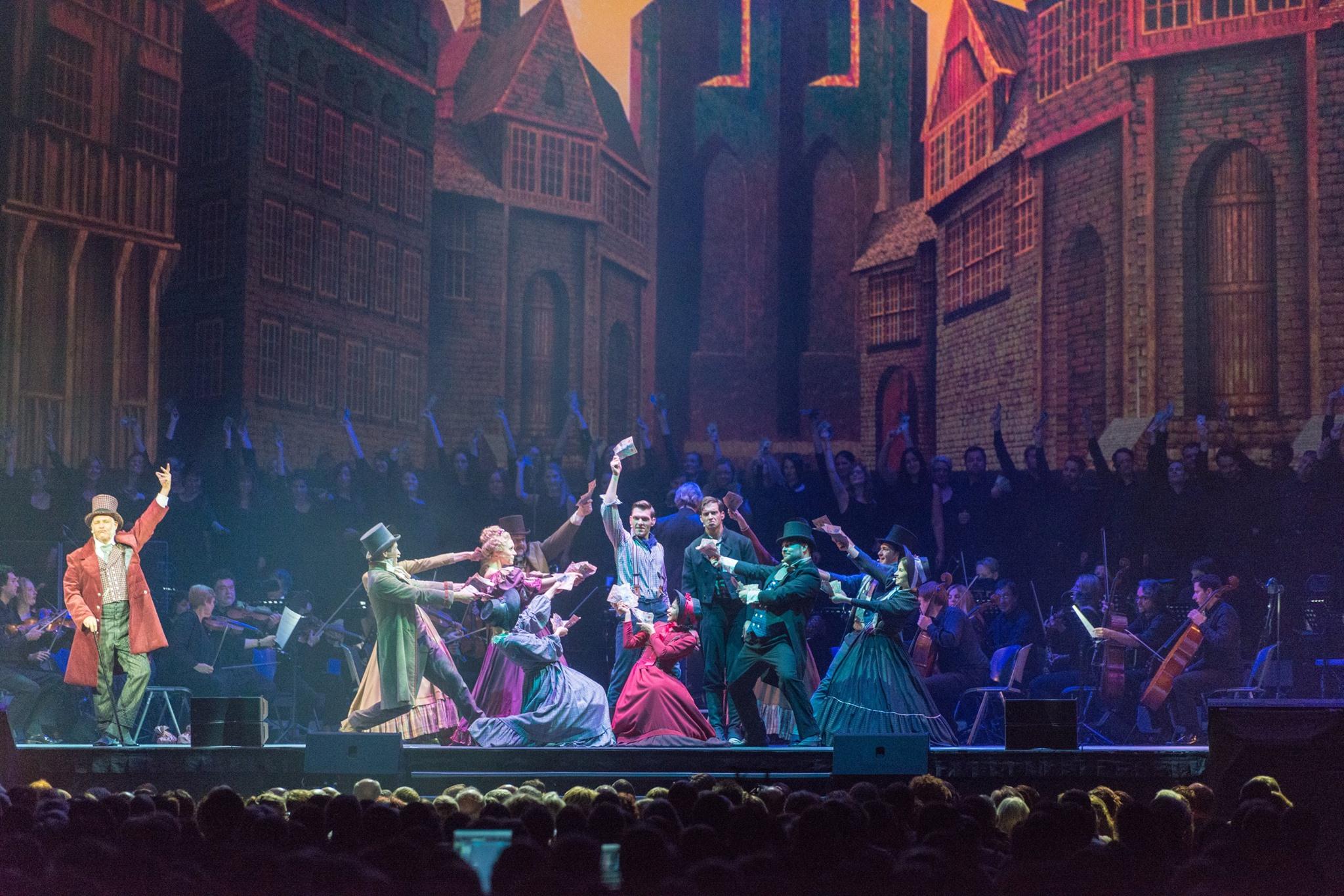 Ein beeindruckendes Erlebnis: 'Kolpings Traum' in der LANXESS Arena - mit dem Musical Ensemble Erft als Gesangsensemble!