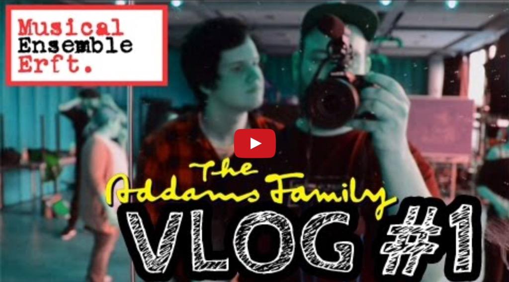 Jetzt neu: Der 'Addams Family'-Videoblog!