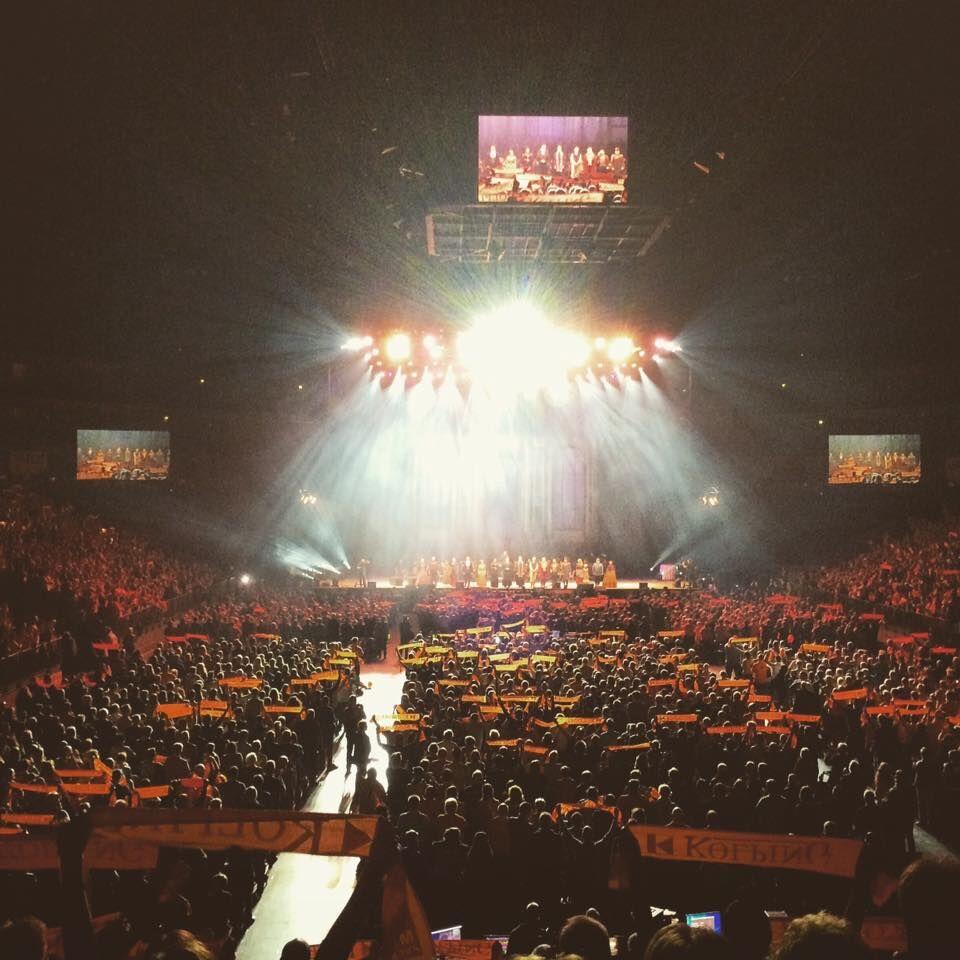 Unser Auftritt bei Musical 'Kolpings Traum' beim Kolpingtag in der LANXESS Arena in Köln war ein bewegendes Erlebnis.