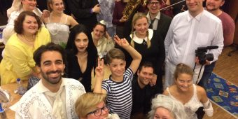 Technische Probe The Addams Family - Musical Ensemble Erft