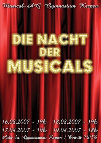 10 Jahre her: 'Die Nacht der Musicals'