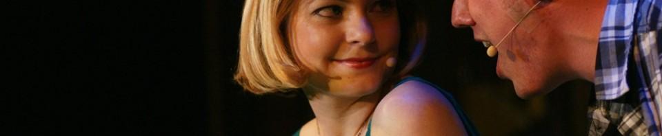"""Green Green Dress"" - Michaela Berg, Daniel Wichmann - Deutschlandpremiere ""tick, tick...BOOM!"", März 2010."