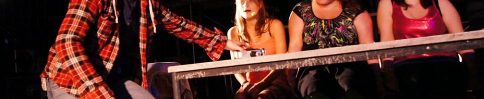 """""""La Vie Bohème"""" - Oliver Morschel, Lydia Bremer, Yavanna Pütz, Barbara Becker - RENT - Musical Ensemble Erft, September 2012, Kerpen - (c)Bernd Woidtke"""