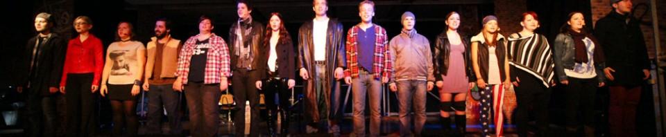 """""""Lass dein Maß die Liebe sein"""" - RENT - Musical Ensemble Erft, September 2012, Kerpen - (c)Bernd Woidtke"""