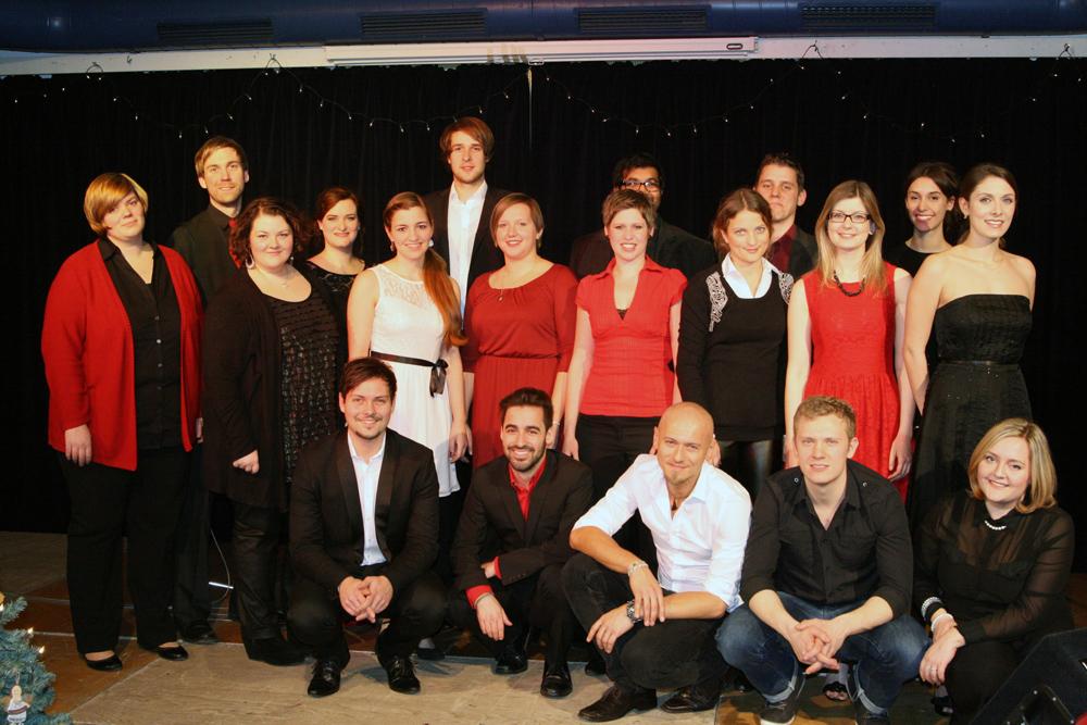 "Das Musical Ensemble Erft bei den ""Sternstunden"""