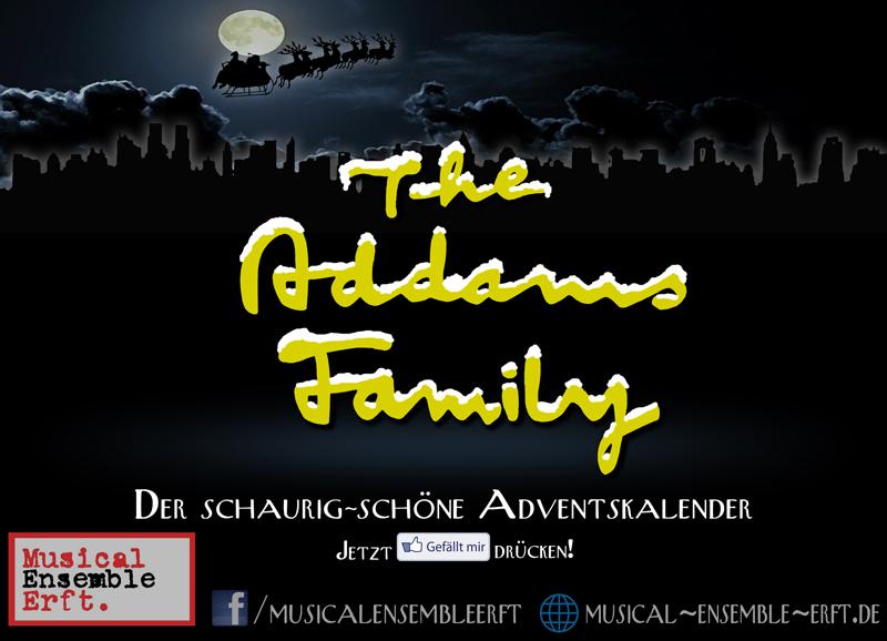 Der 'Addams Family'-Adventskalender