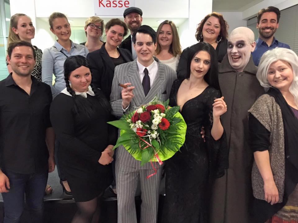 Auftritt 'The Addams Family' - Musical Ensemble Erft - Kreissparkasse Köln in Kerpen
