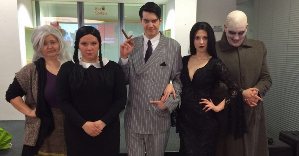 Musical Ensemble Erft The Addams Family - Auftritt KSK