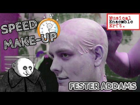 Speed Make Up Fester Addams - Musical Ensemble Erft