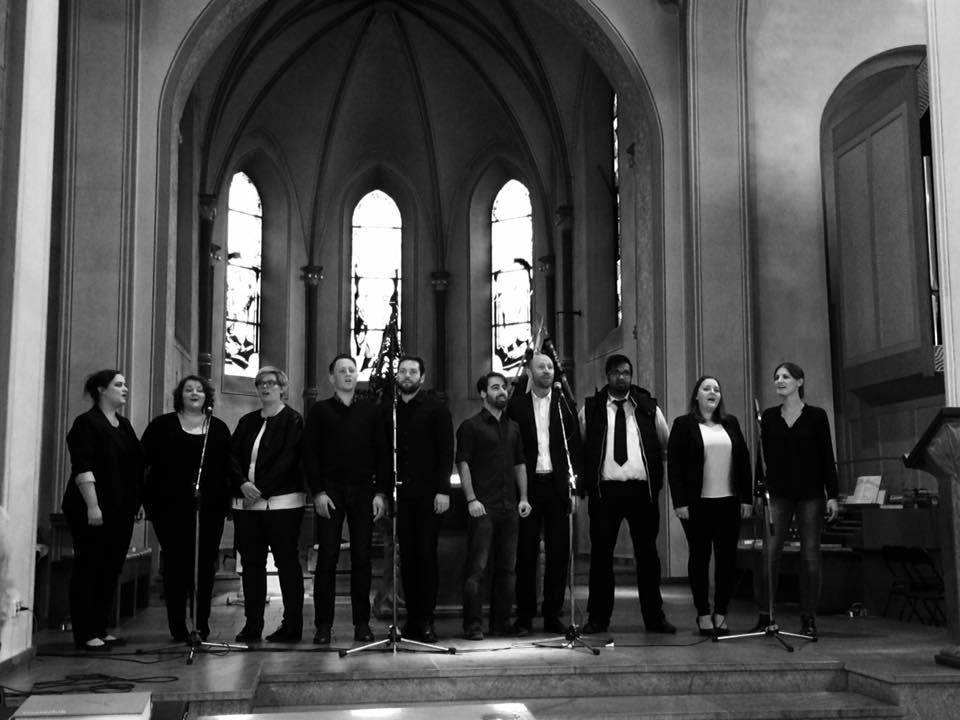 Das Musical Ensemble Erft beim Kolpingtag in Kerpen.